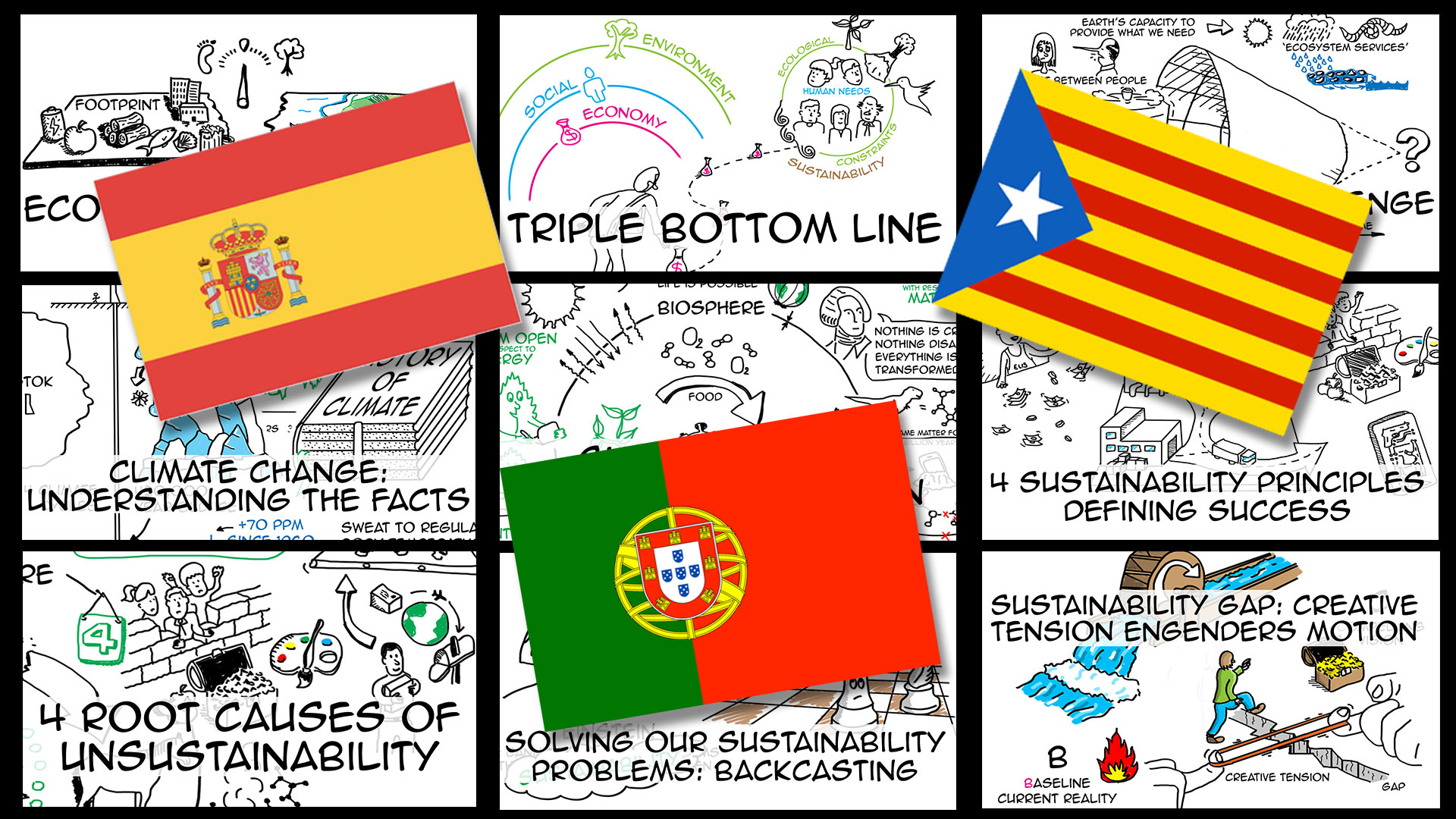 Spanish-Catalan-Portuguese-Videos