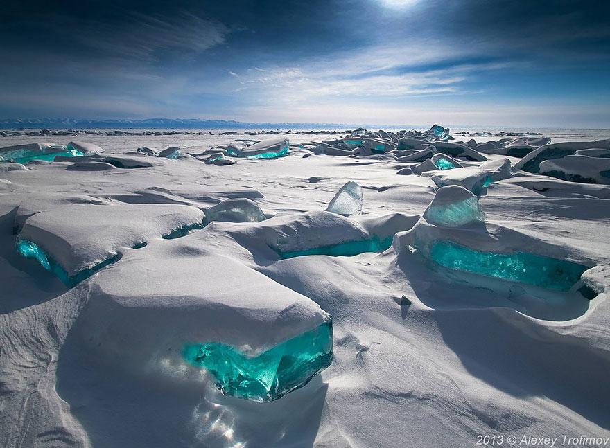 Baikal Ice Emerald