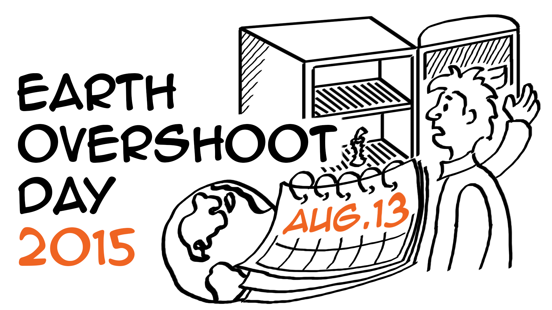 Earth Overshoot Day 2015 is on August 13th
