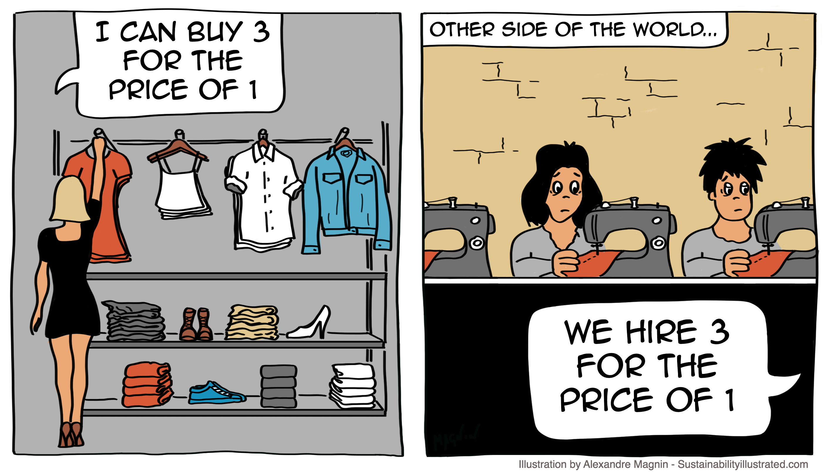 Clothes-Unsustainable-Price-Cartoon