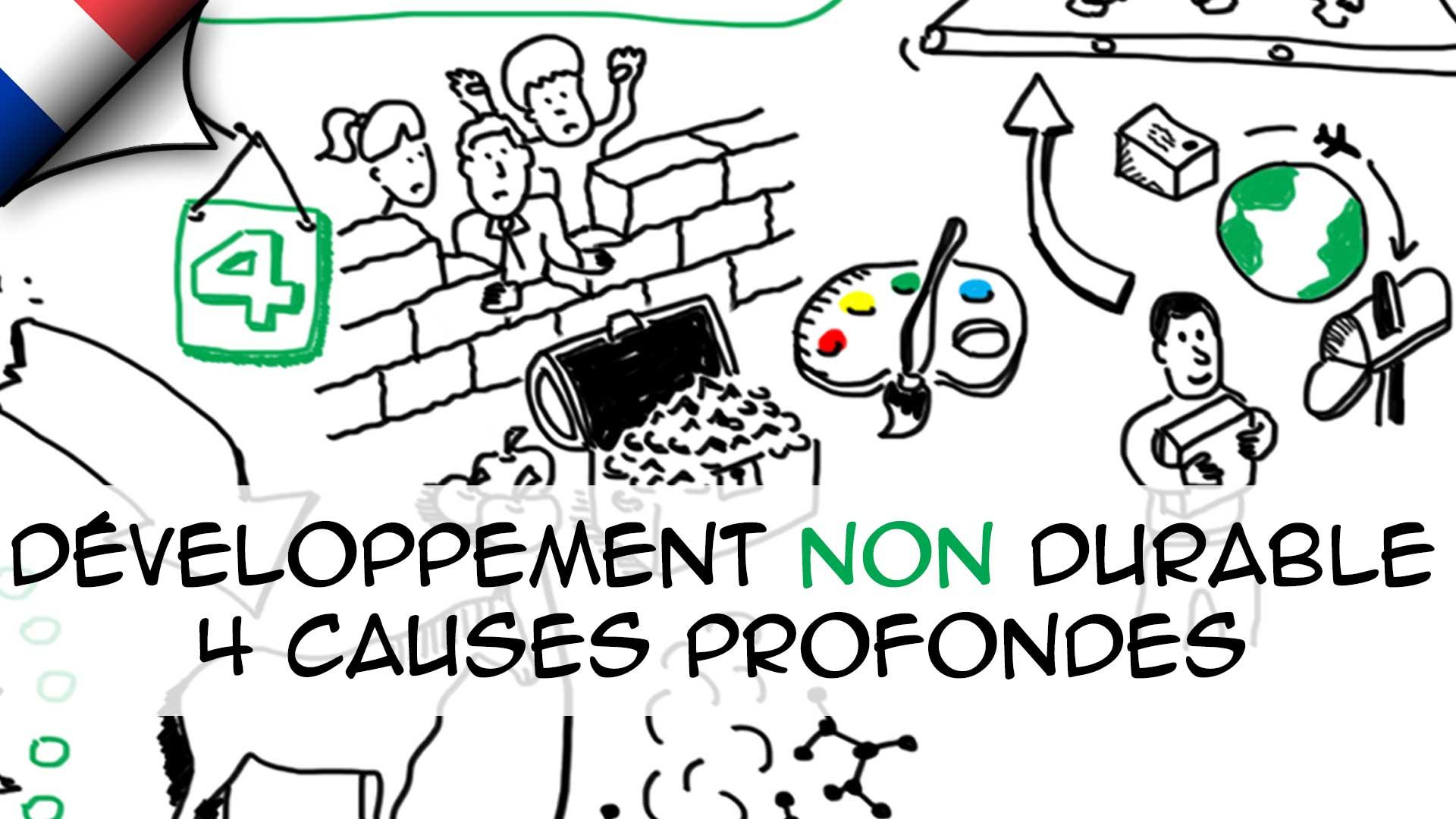 Développement NON durable : 4 causes profondes