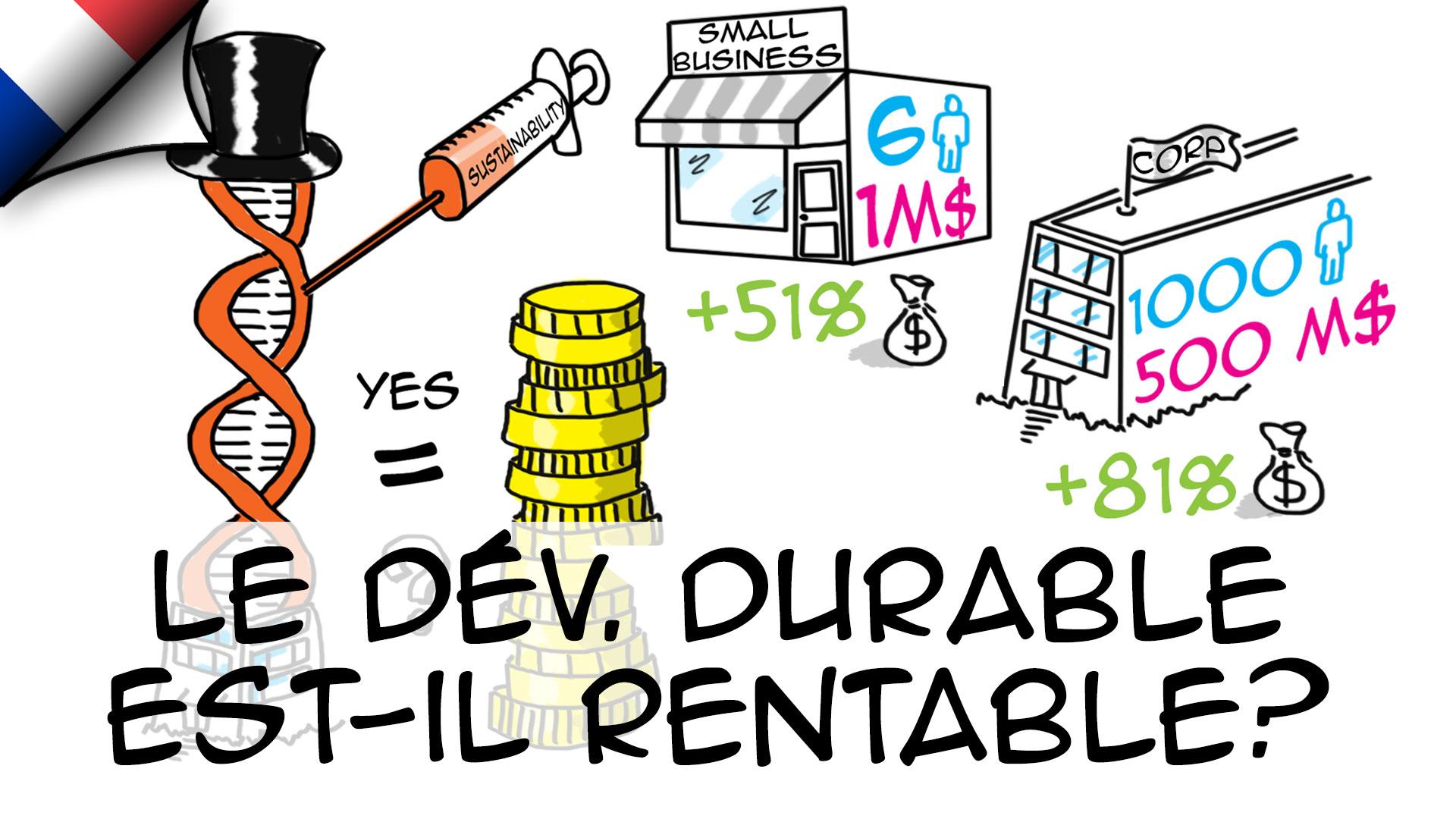 Le développement durable est-il rentable ?