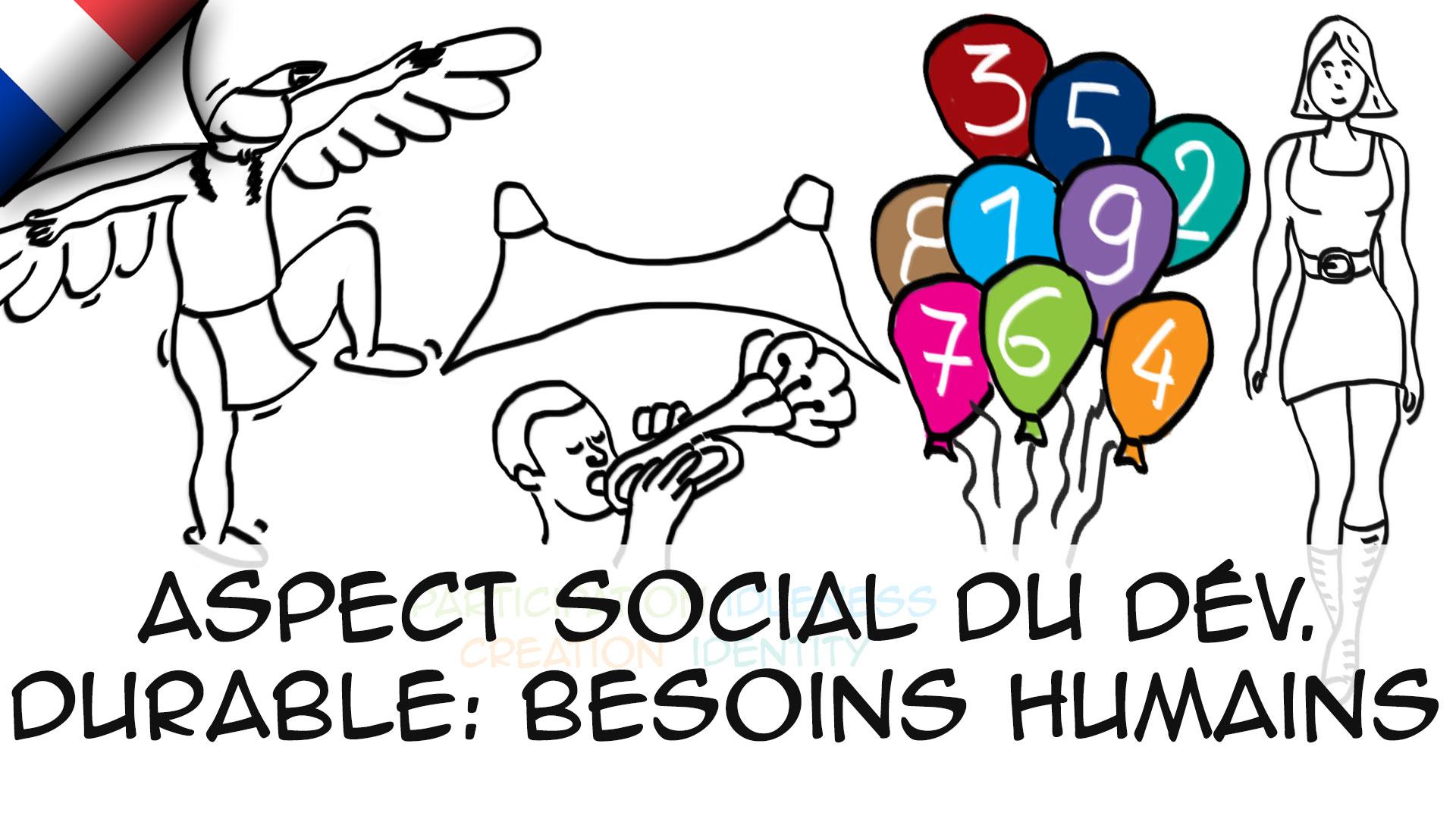 Aspect social du dév. durable (besoins humains)