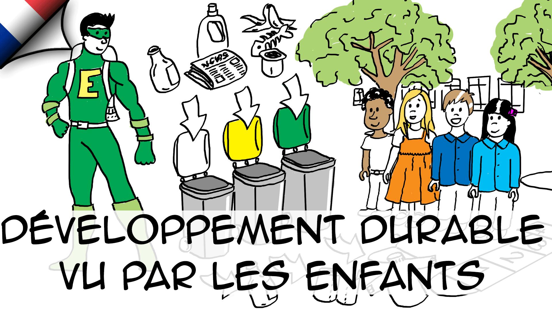 Développement durable vu par les enfants (CE2)