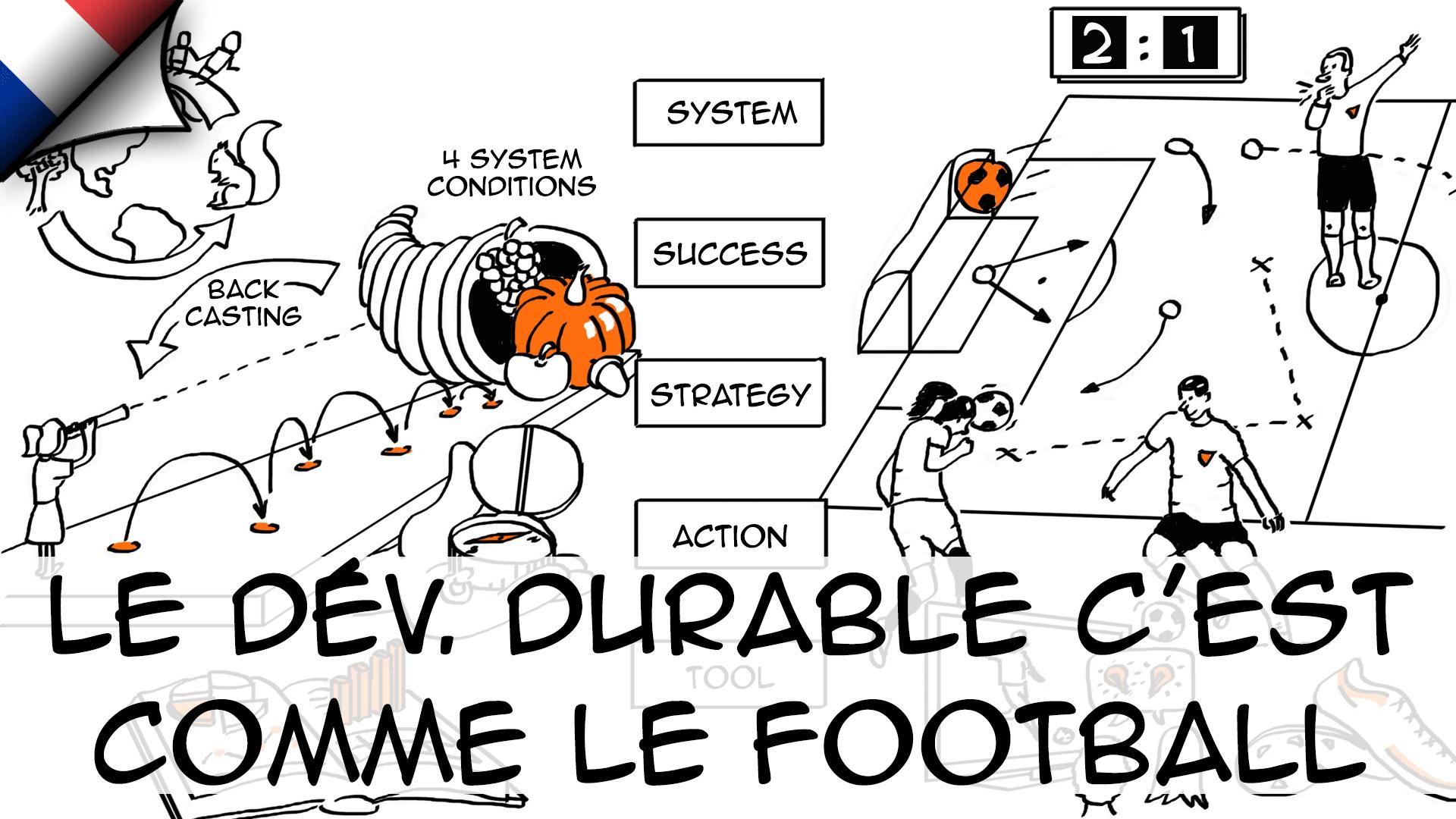 Le développement durable, c'est comme le football…