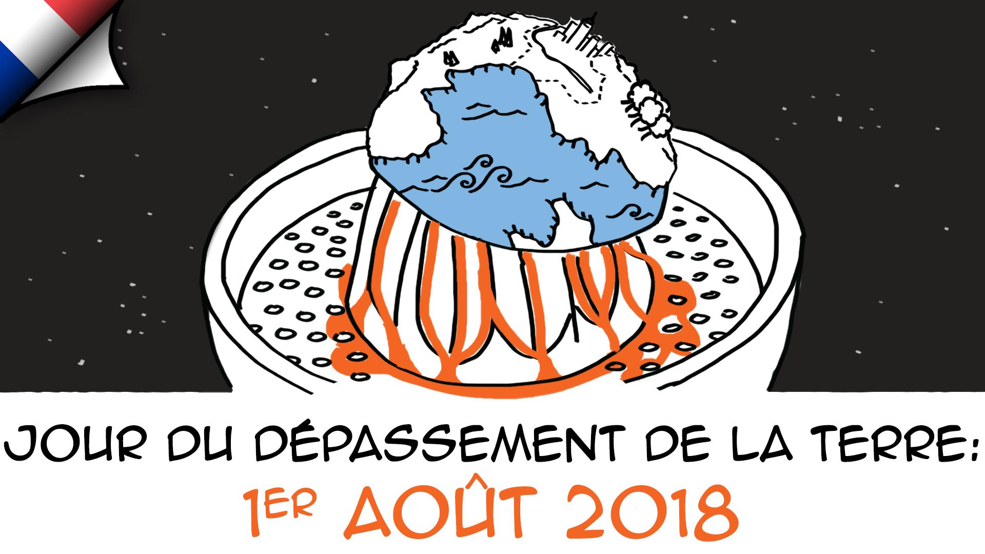 Jour du dépassement de la Terre 2018 : 1er août