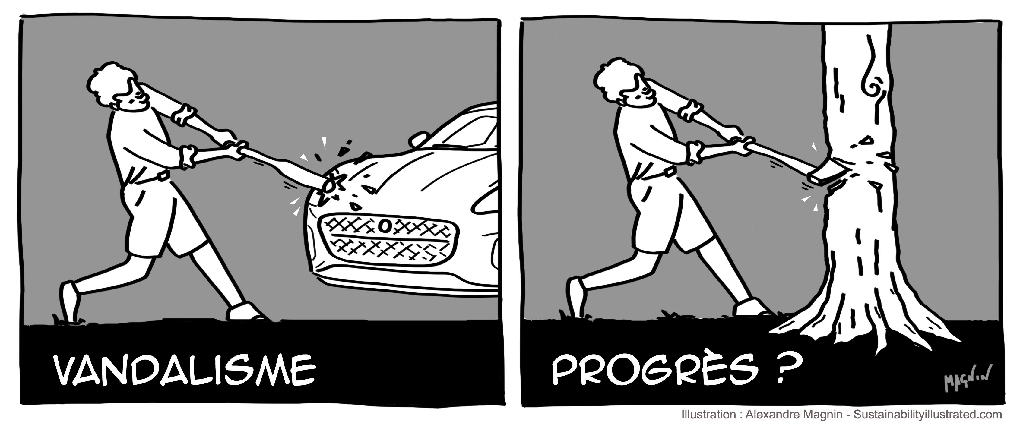 Progres-Vandalisme-Dessin