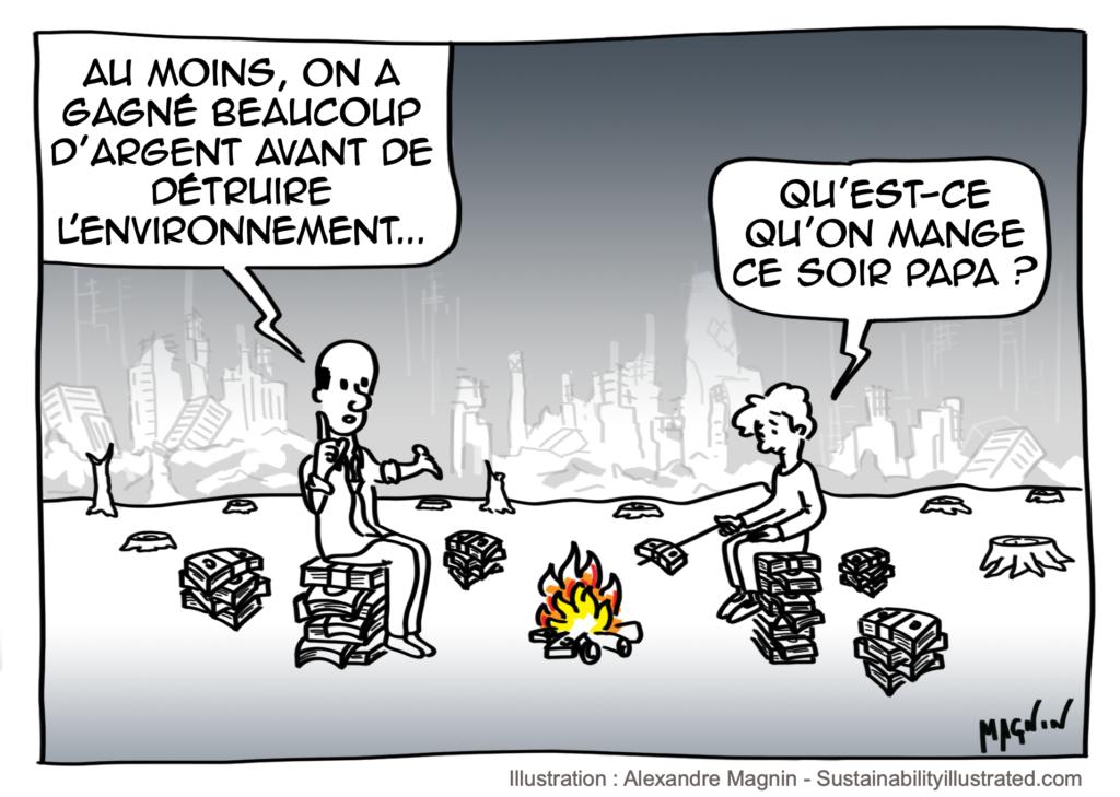 Economie-Environnement-Dessin