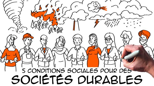 5 conditions sociales pour des sociétés durables