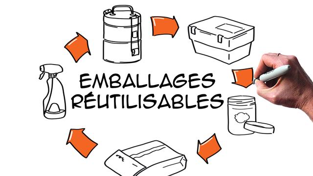 10 idées inspirantes pour réutiliser les emballages
